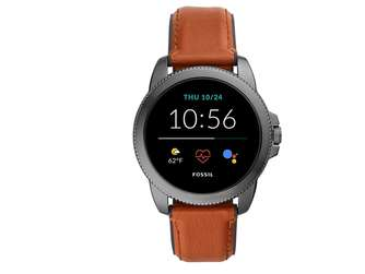 Fossil Herren Touchscreen Smartwatch 5E. Generation