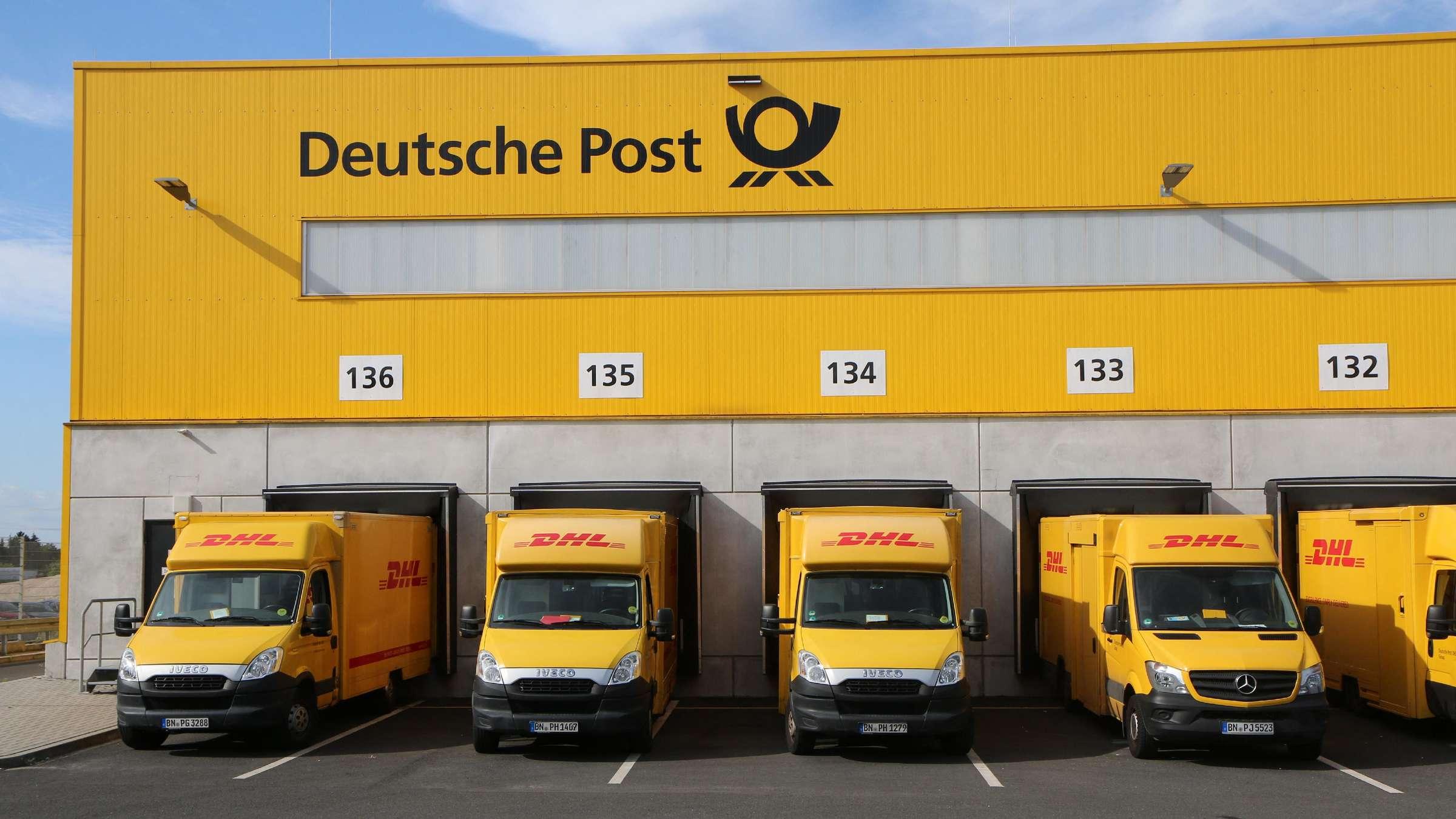Deutsche Post DHL Group Was Sie zu Brief, Paket und Porto Preis ...